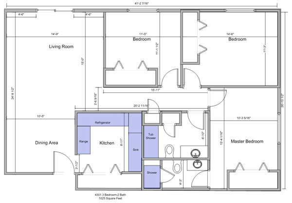 3 Bedroom Apartment South Hampton Apartments